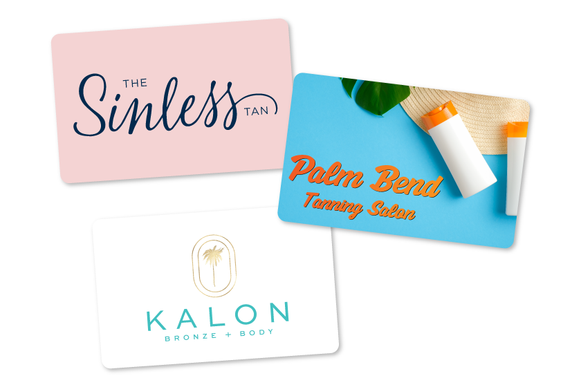 Gift Cards Tanning Salon