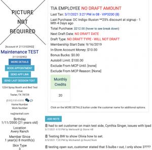 Tanning Salon Software Customer