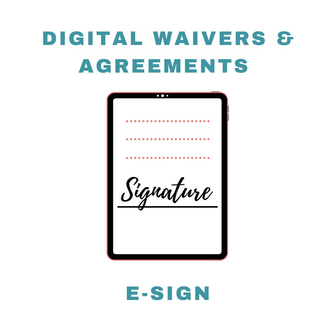 Tanning Salon Software Ipad Digital Waiver Agreements