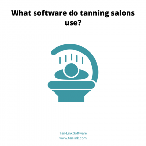 What software do tanning salons use?